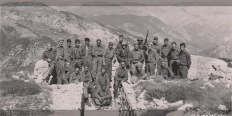 Forcemen de la 3rd Company du 3rd Regiment au sommet du Mont Ours.