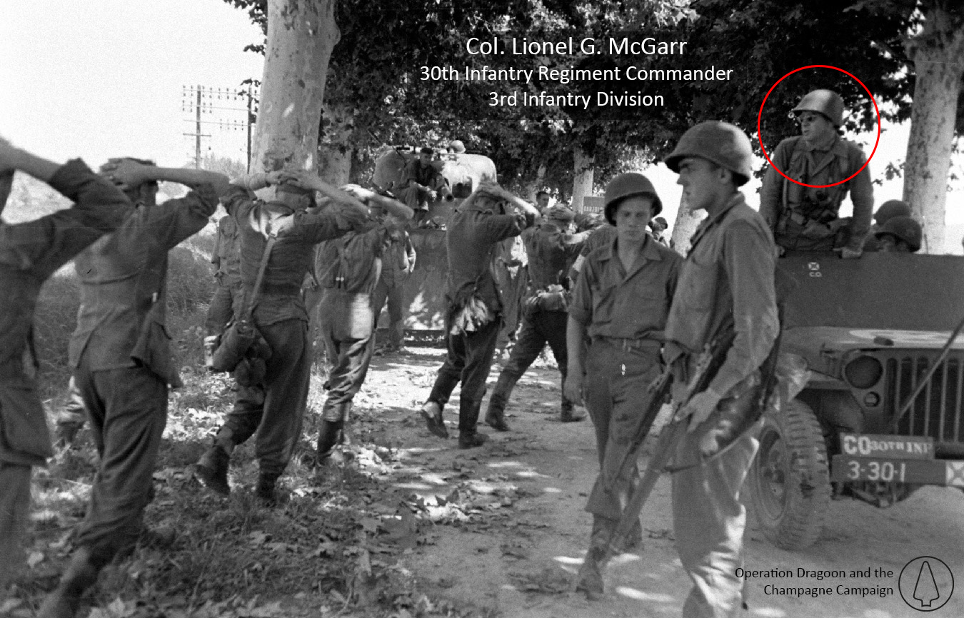 Colonel Lionel R. McGarr - 30th Infantry Regiment Commander - 1944