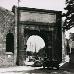 Radcliffe' patrol at the Porta Furba on the Via Tuscolana.