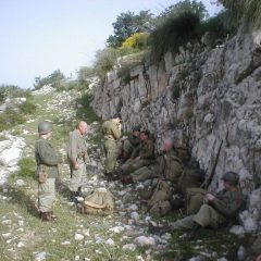 Break on the march into La Difensa in 2005. (Paul Dray)